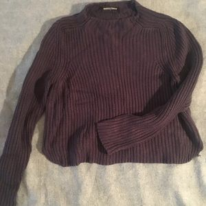 American Apparel Navy Knit Sweater: Size XS